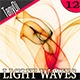 Abstract Mat Light Waves - GraphicRiver Item for Sale