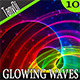 Abstract Glowing Waves | 2 - GraphicRiver Item for Sale