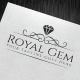 Royal Gem Logo Template - GraphicRiver Item for Sale