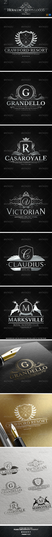 GraphicRiver Heraldic Crest Logos Vol.3 7684439