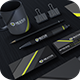 Modern Grey Corporate Identity - GraphicRiver Item for Sale