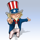 "Uncle Sam - ""I Want You"" Presenting - GraphicRiver Item for Sale"