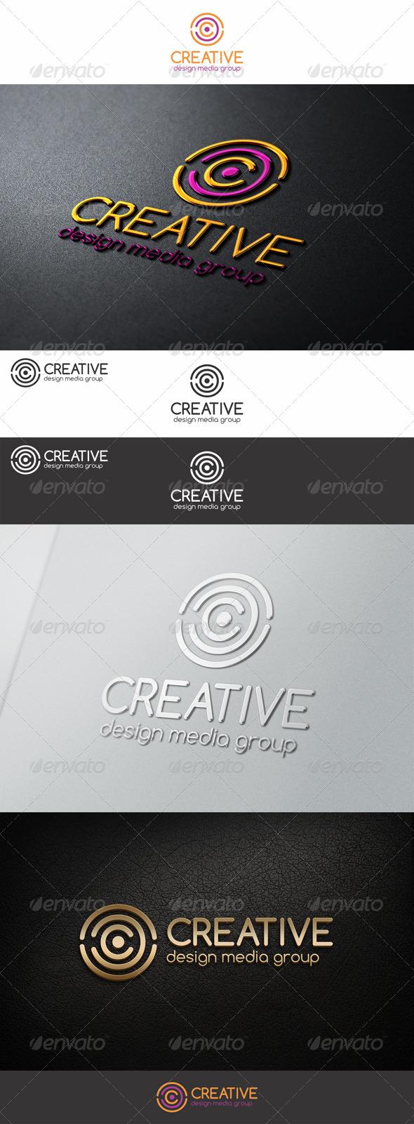 GraphicRiver Creative Circles C Letter Logo 7684672