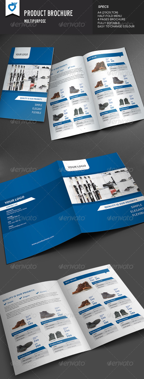 GraphicRiver Product Brochure 7685755