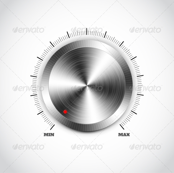 GraphicRiver Metal Button with Circular Processing 7686829