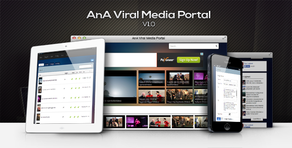 CodeCanyon AnA Viral Media 7658455