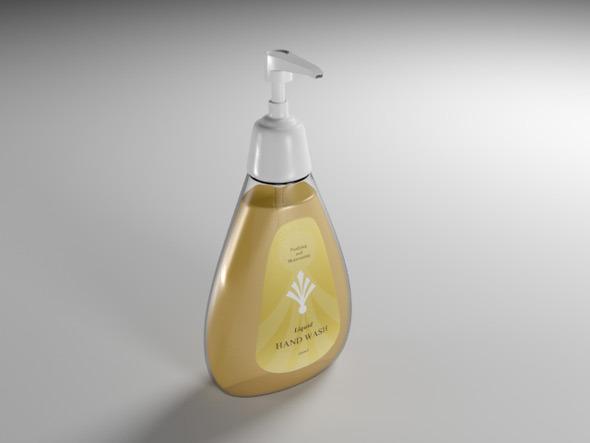 3DOcean Hand Wash Bottle 7687428