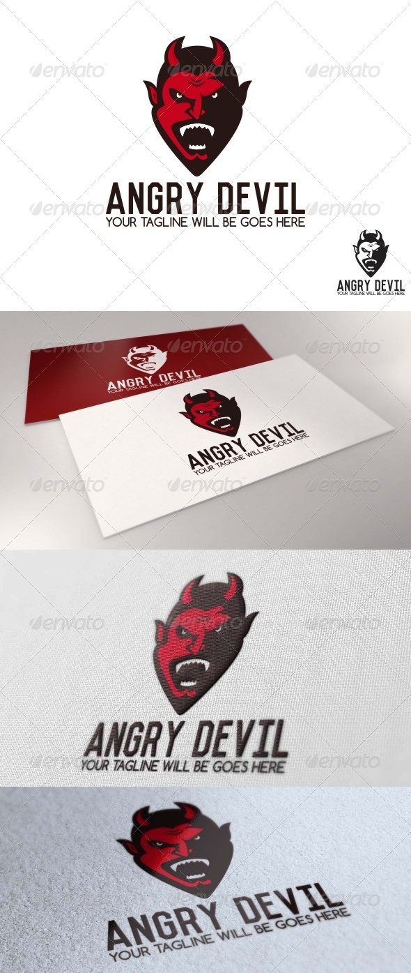 GraphicRiver Angry Devil Logo 7653669