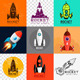 Rocket Collection - GraphicRiver Item for Sale