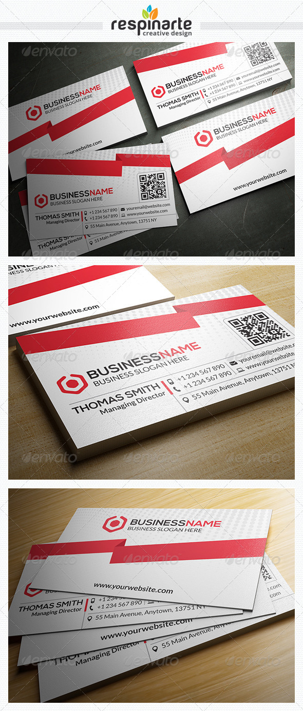 GraphicRiver Corporate Business Card RA25 7688192