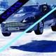 Laser Driving Scene