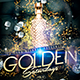 Golden Saturdays Party Flyer - GraphicRiver Item for Sale