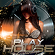 Play Saturdays Party Flyer - GraphicRiver Item for Sale