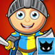 Blue and Yellow Knight Character - GraphicRiver Item for Sale