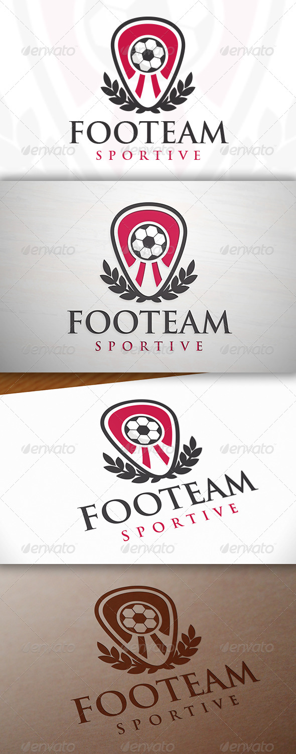 GraphicRiver Football Team Crest Logo 7691967