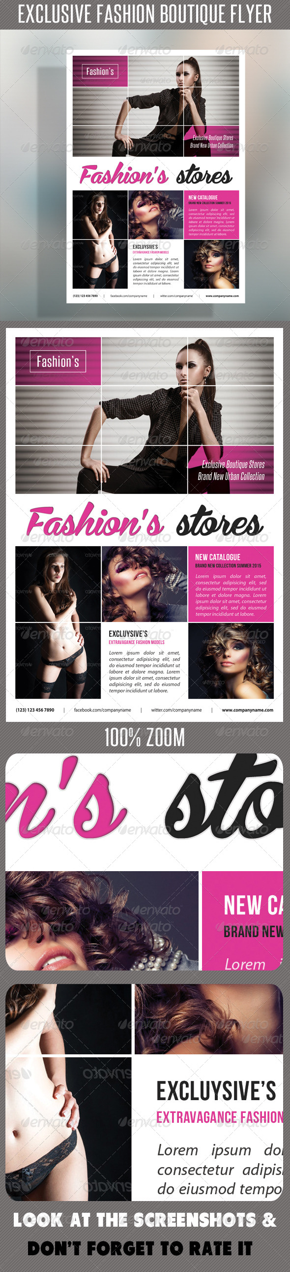 GraphicRiver Fashion Product Flyer 56 7692560