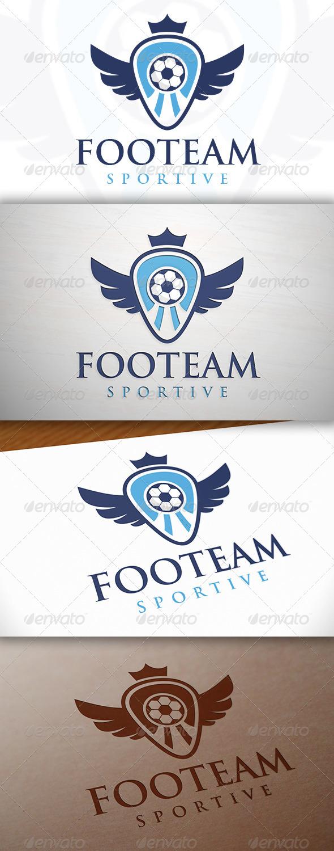 GraphicRiver Football Team Crest Logo Template 7692561