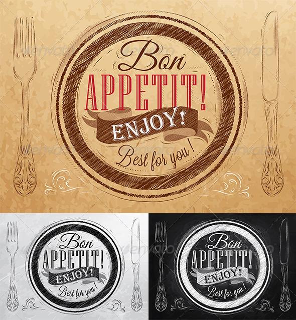 GraphicRiver Bon Appetit 7692597