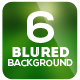 6 Smooth Blurred Backgrounds - GraphicRiver Item for Sale
