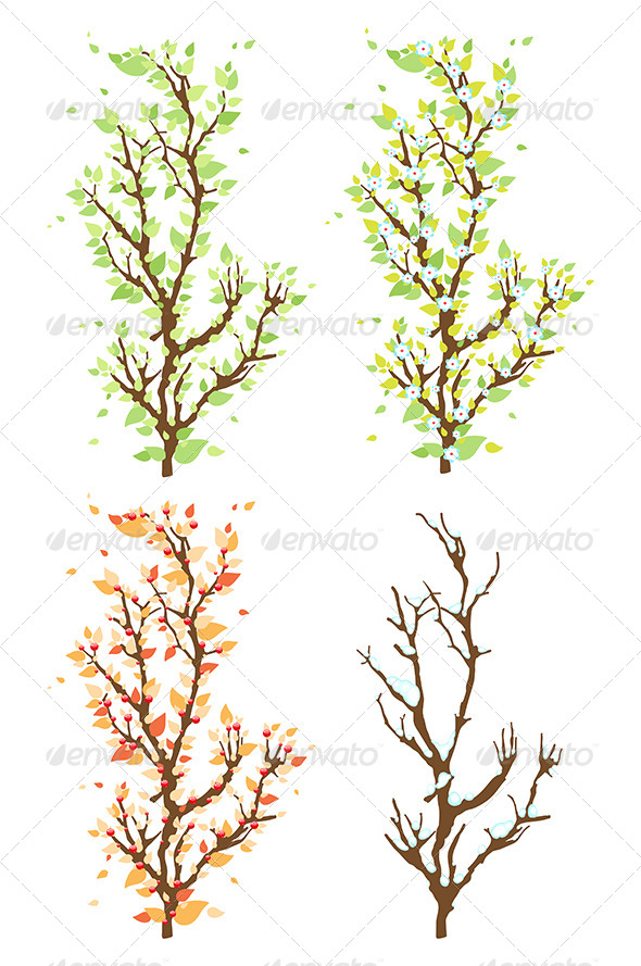 GraphicRiver Changes in the Nature 7693065