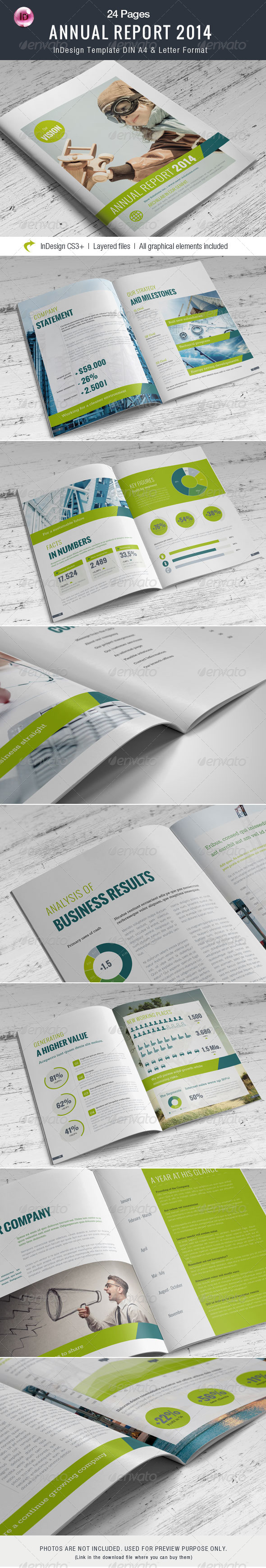 GraphicRiver Annual Report 24 Pages 7694508