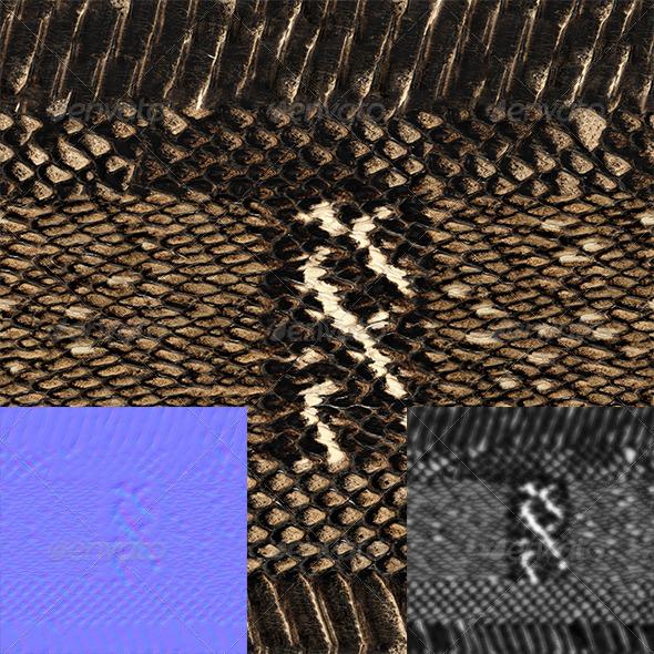 3DOcean snake skin 7694733