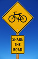 Share The Road With Bicycles Sign - PhotoDune Item for Sale