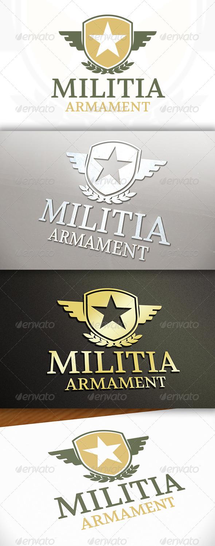 GraphicRiver Militia Logo 7695475
