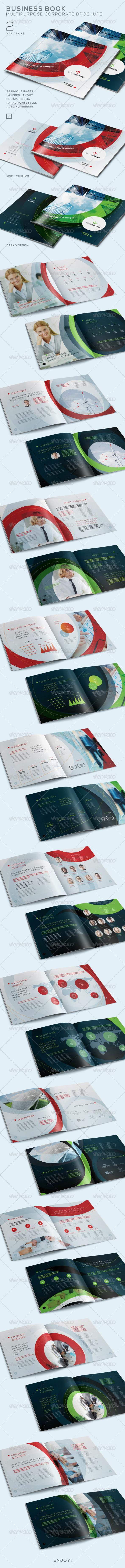 GraphicRiver Business Book Multi-Purpose Corporate Brochure 7696962