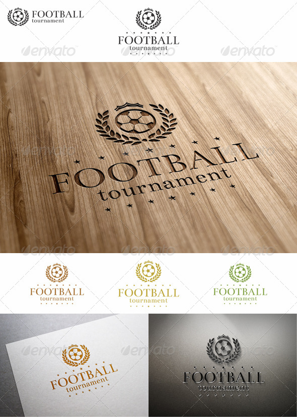 GraphicRiver Soccer Football Tournament Logo 7697043