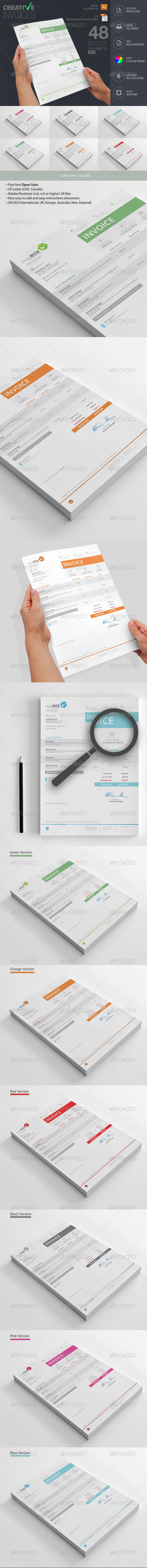 GraphicRiver Invoices 7667850