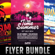 Summer Beach Minimal Flyer Bundle  - GraphicRiver Item for Sale