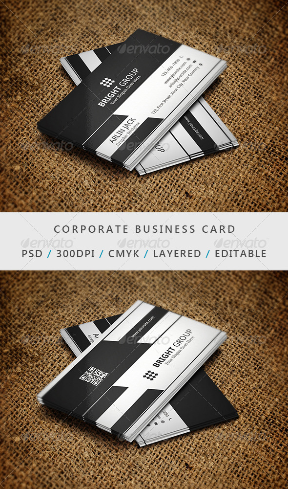 GraphicRiver Corporate Business Card 7699883