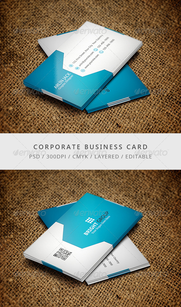 GraphicRiver Corporate Business Card 7699922