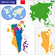 Bahrain Map - GraphicRiver Item for Sale