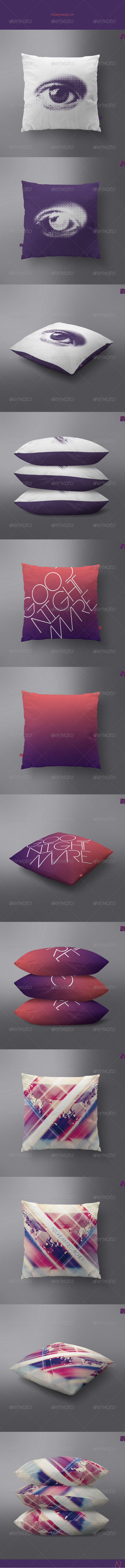 GraphicRiver Pillow Mock-up 7701316