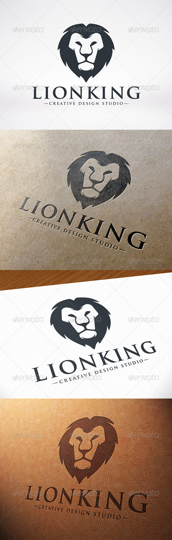 GraphicRiver Lion Head Logo 7701855
