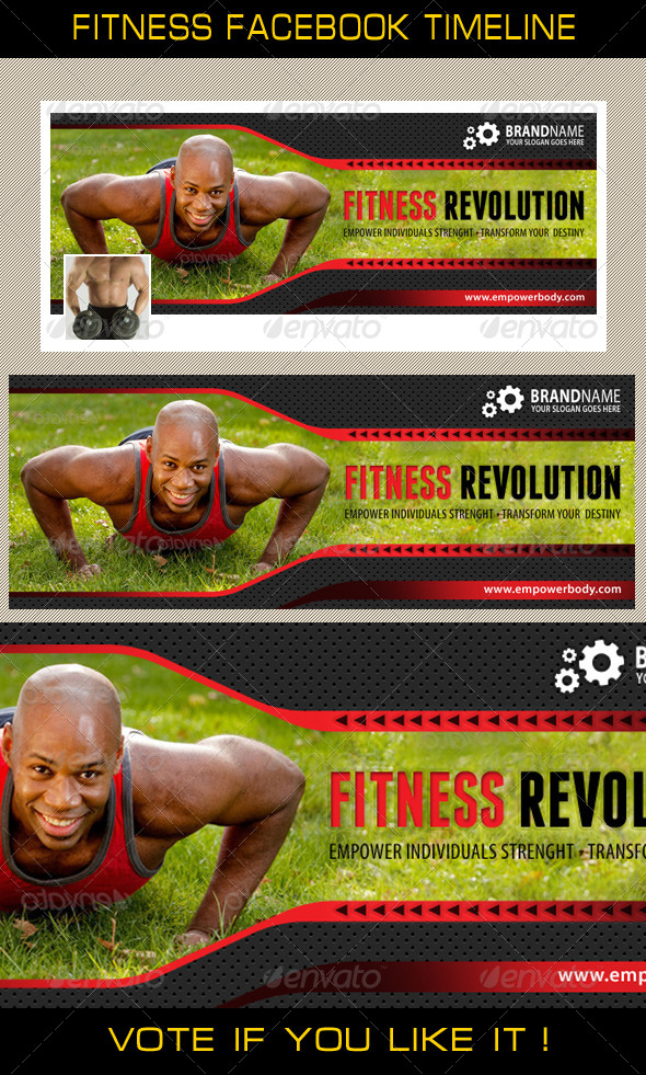 GraphicRiver Fitness Facebook Timeline 02 7702510