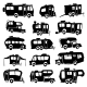 Recreational Vehicles Icons - GraphicRiver Item for Sale