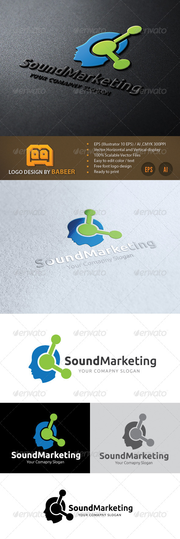 GraphicRiver Sound Marketing 7702765