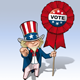 Uncle Sam - Vote - GraphicRiver Item for Sale