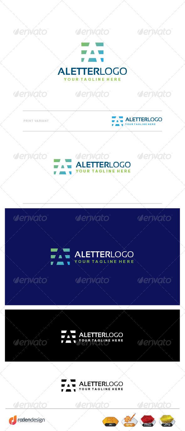 GraphicRiver A Letter Logo 7704373