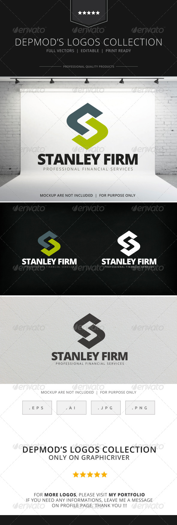 GraphicRiver Stanley Firm Logo 7705059