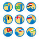 Flags and Symbols - GraphicRiver Item for Sale