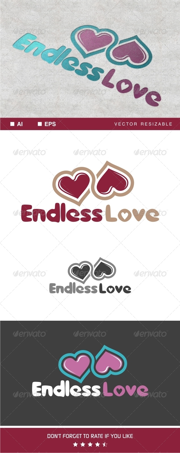GraphicRiver Endless Love Logo 7706587