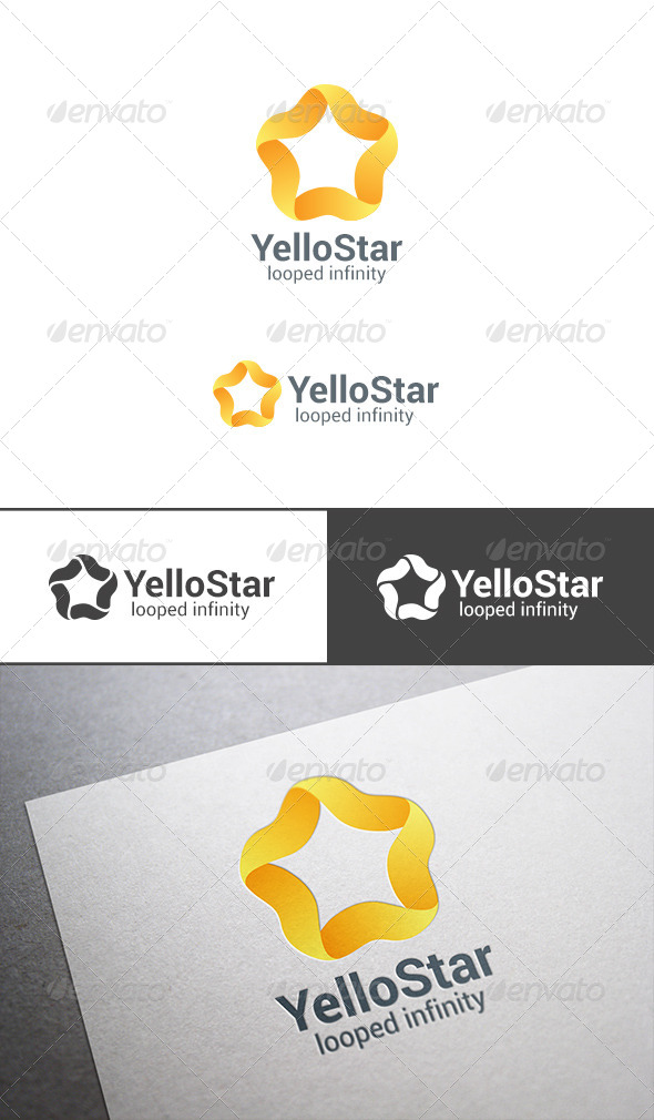 GraphicRiver Star Loop Logo Infinity Abstract 7707841