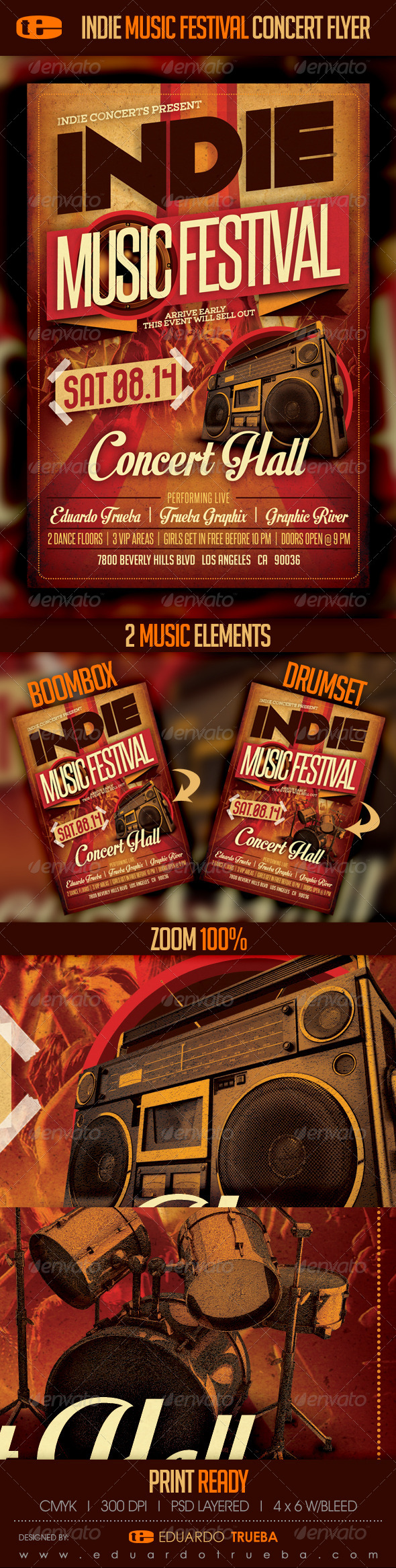 GraphicRiver Indie Under Ground Rock Music Concert Festival 7708450