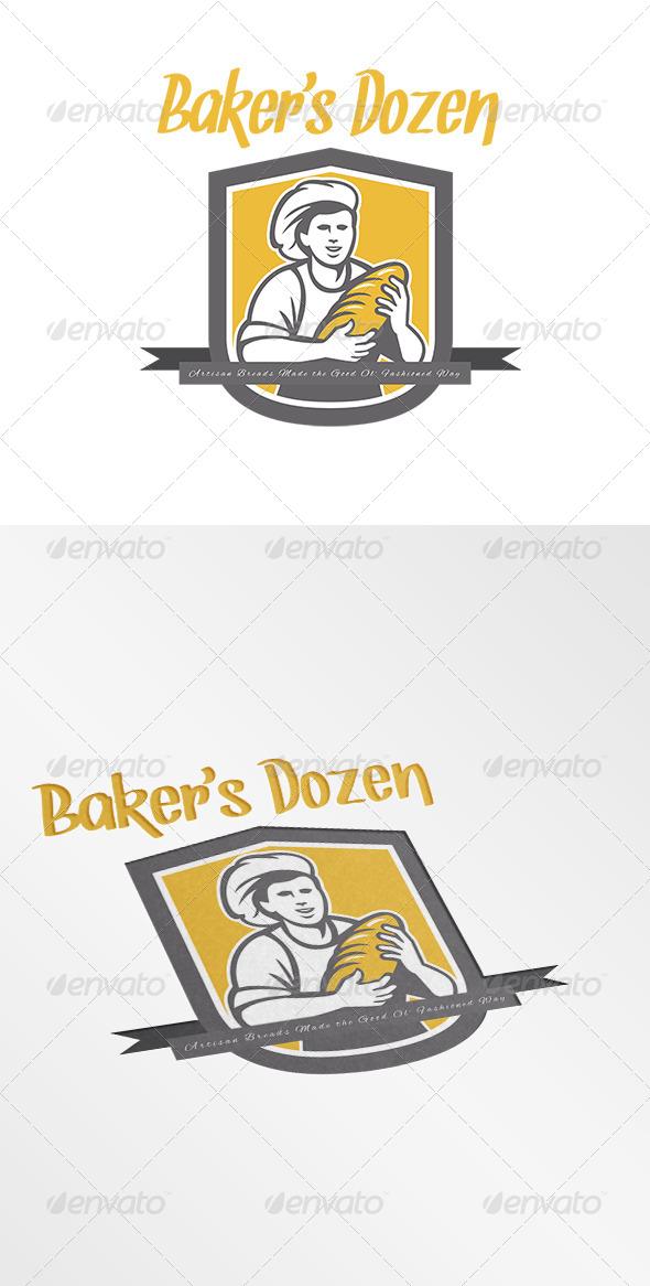 GraphicRiver Baker s Dozen Artisan Breads Logo 7708481