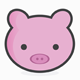 Piggy Logo Template - GraphicRiver Item for Sale