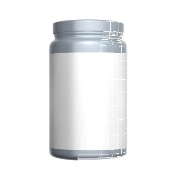 3DOcean Gray Protein Bottle 7709285